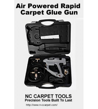 Air Powered Rapid Carpet Glue Gun