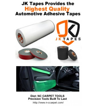 automotive adhesive tapes for electrical wiring, interior & exterior vehicle protection
