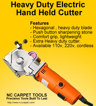 Heavy Duty Electric Hand Held Cutter